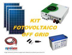 Kit Energía Solar Off Grid 5000W