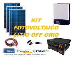 Kit Energía Solar Litio Off Grid 5kW