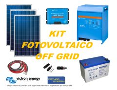 Kit Energía Solar Off Grid 3000VA Full Victron