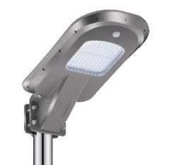 Luminaria Solar LED de 12W para Poste de Alumbrado con Batería LifePO4
