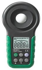 Luxómetro Digital Mastech MS6612