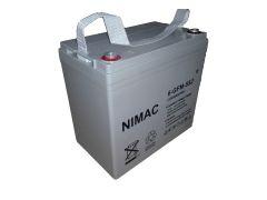 Batería Nimac 55Ah 12V GEL Ciclo Profundo
