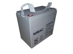 Batería NIMAC 33Ah 12V Gel Ciclo Profundo