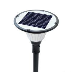 Luminaria Solar Integrada 2000 Lúmenes 20W para Parques