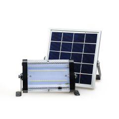 Proyector Solar de Seguridad 1000 Lúmenes 10W con Panel Independiente