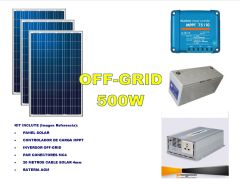 Kit Energía Solar Off Grid 600W Full