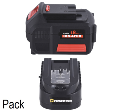 Pack Cargador + Batería Power Pro Ion-Litio 4.0 Ah 18V