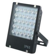 Proyector LED Industrial 30W y 100 lm/W 220V para Alumbrado Público