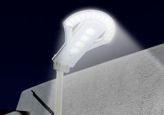 Luminaria Solar LED 25W 120 Lm/W para Poste de Alumbrado
