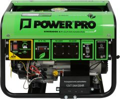 Generador a Gas y/o Gasolina Power Pro DG3000