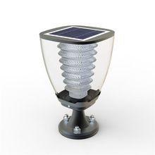 Lámpara Solar 200 Lúmenes Pilar o Columna de Exterior