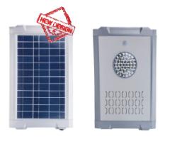 Luminaria Solar LED 1500 Lúmenes 15W PV 15W LiFePO
