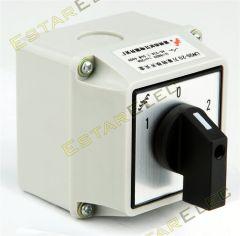 Switch Manual para Doble Fuente AC 32A con Paso por Cero 1 0 2
