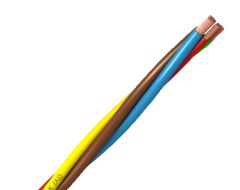 Cable 6mm TOXFREE ZH H07Z1-K Amarillo/Verde