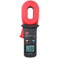 UNI-T Amperimetro de Tenaza y Medidor de Resistencia a Tierra