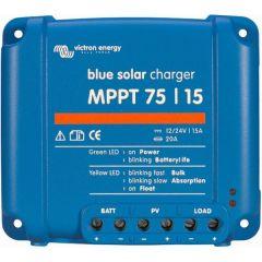 Regulador de Carga Victron BlueSolar 75V 15A 12/24V MPPT