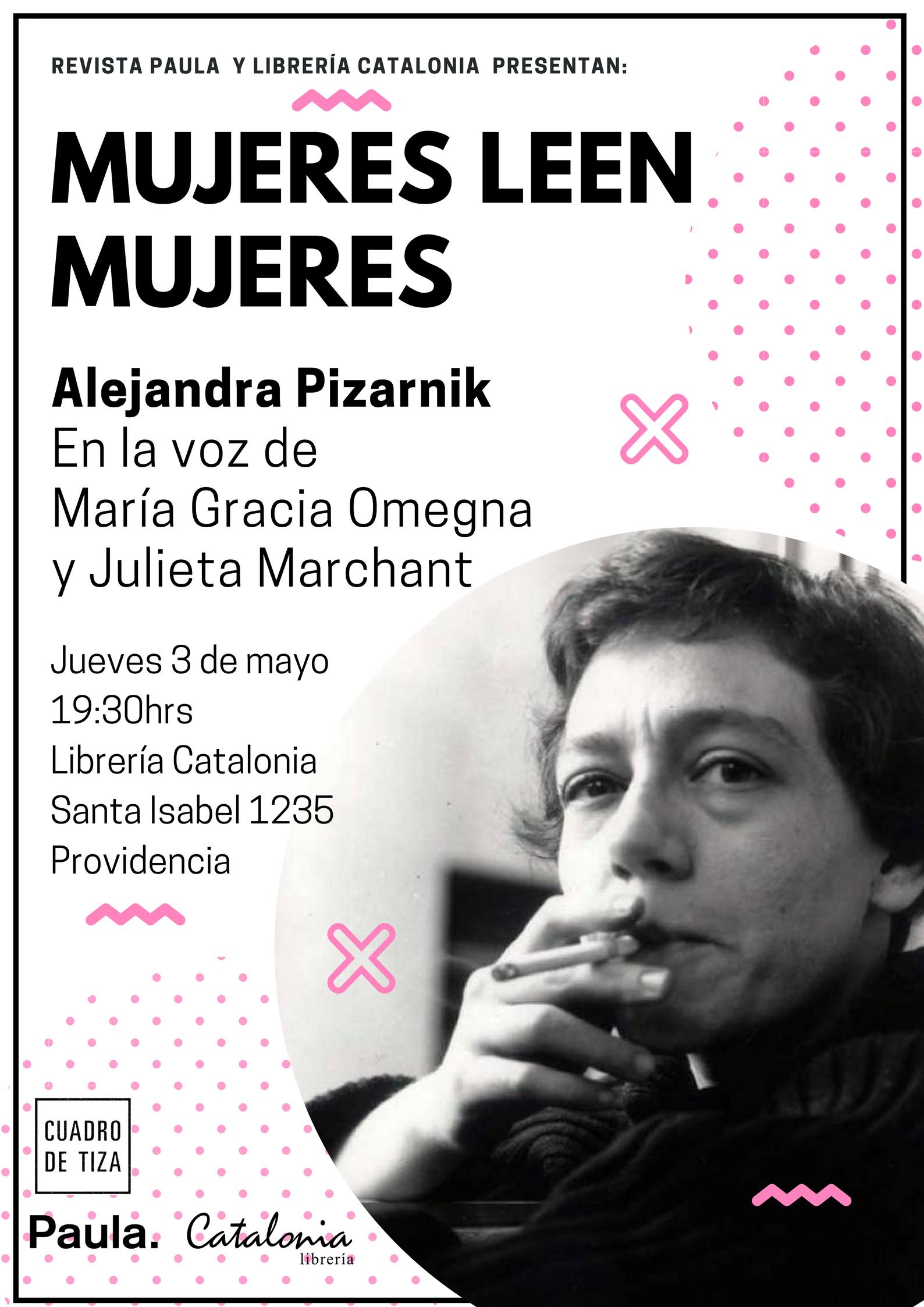 Mujeres leen mujeres: Alejandra Pizarnik