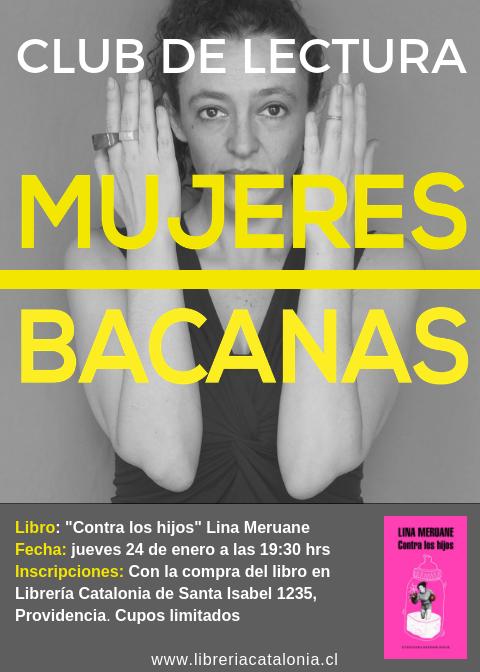 CLUB DE LECTURA BACANAS III