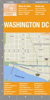 WASHINGTON DC CITY MAP