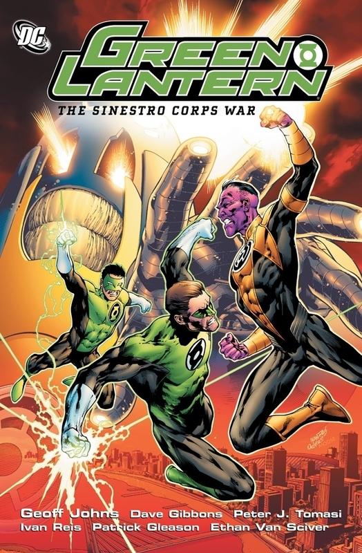 GREEN LANTERN: THE SINIESTRO CORPS WAR