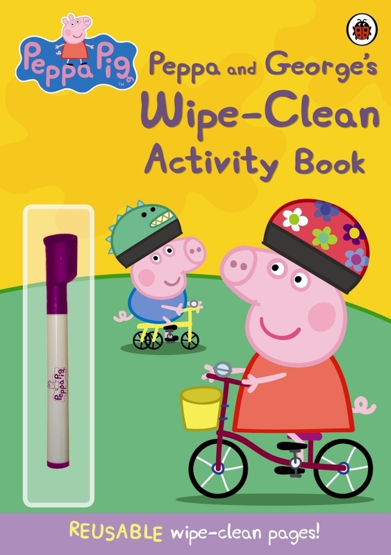 PEPPA AND GEORGES WIPE-CLEAN (ACTIVITY BOOK)