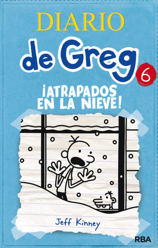 DIARIO DE GREG 6 ATRAPADOS EN LA NIEVE (TD)