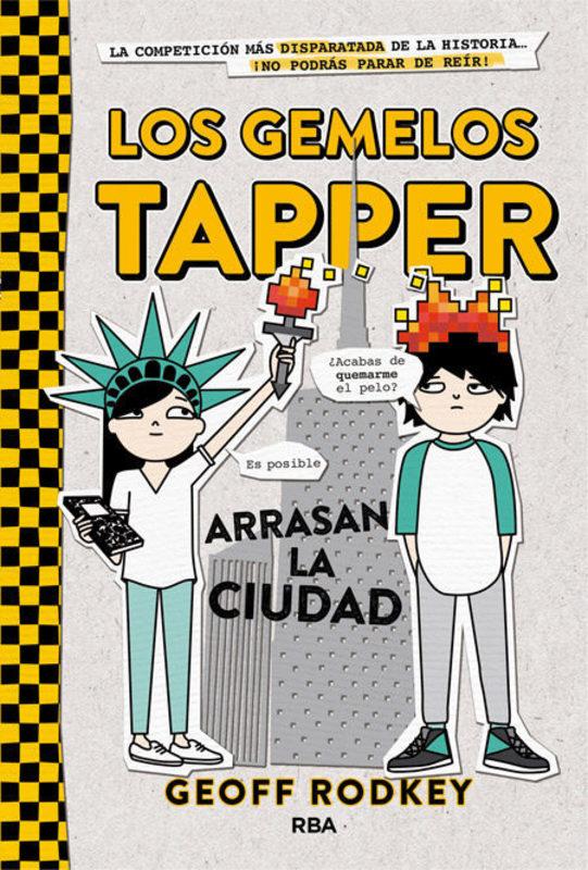LOS GEMELOS TAPPER 2 ARRASAN LA CIUDAD