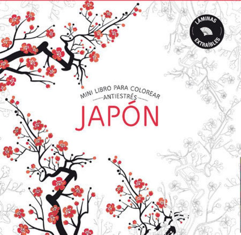 MINI LIBRO PARA COLOREAR: JAPON