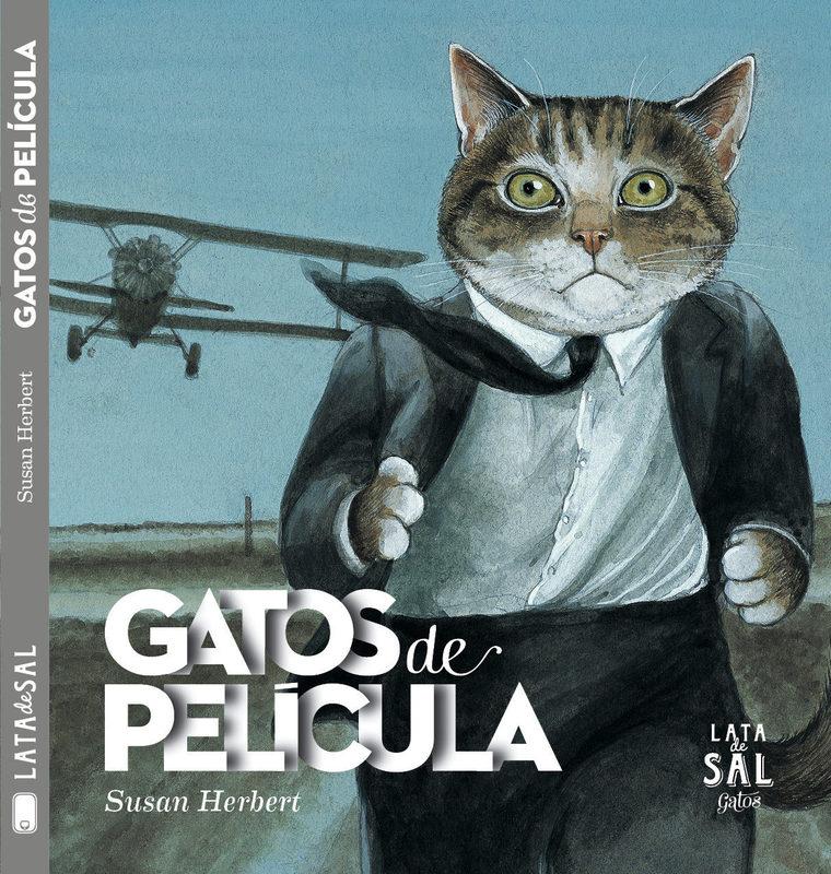 GATOS DE PELICULA (LATA DE SAL)