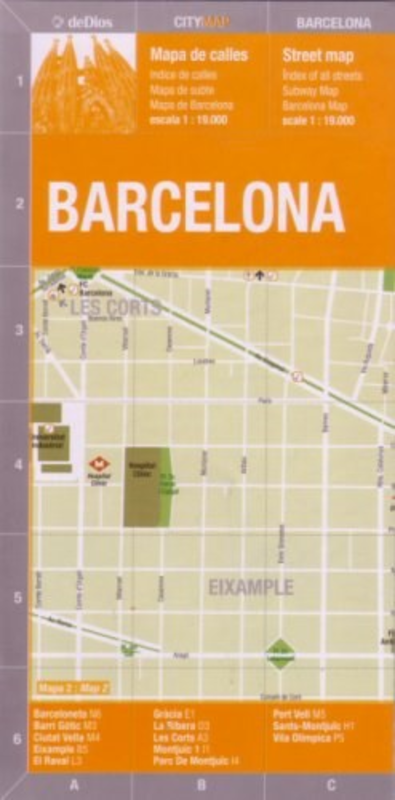 BARCELONA (CITY MAP)