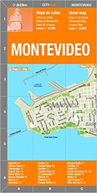 MONTEVIDEO (CITY MAP)