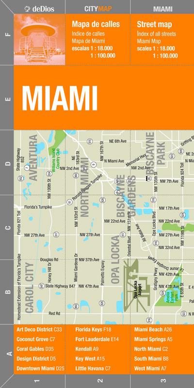 MIAMI (CITY MAP)