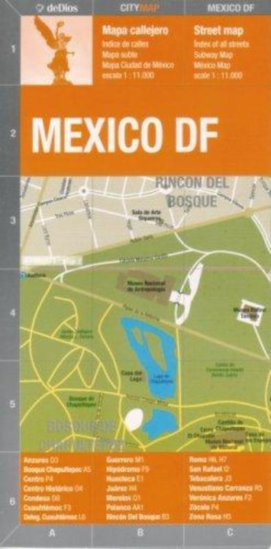 MEXICO (CITY MAP)