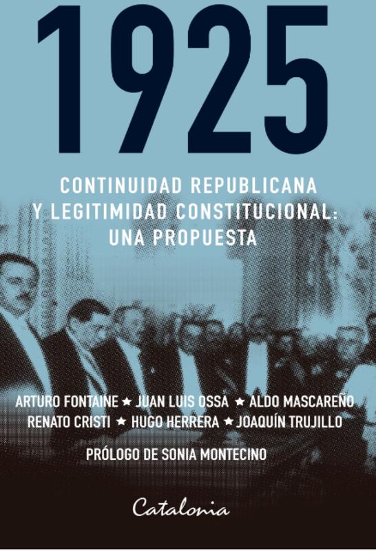 1925 CONTINUIDAD REPUBLICANA Y LEGITIMIDAD CONSTITUCIONAL