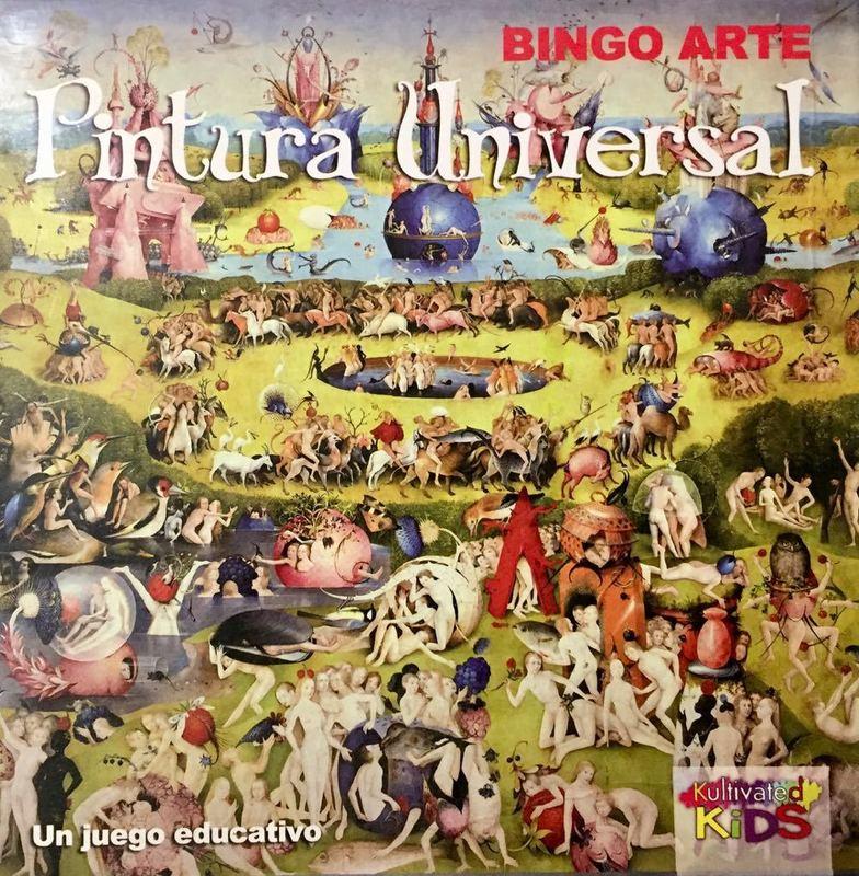 BINGO ARTE: PINTURA UNIVERSAL