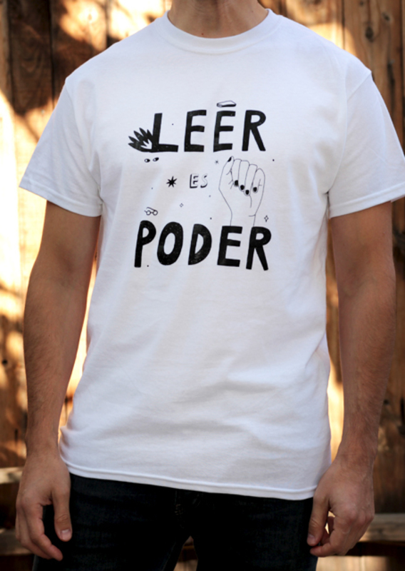 POLERA LEER ES PODER