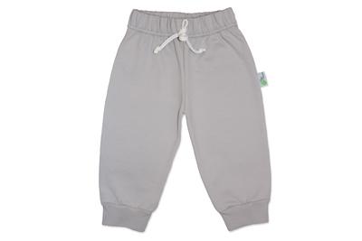 Pantalon Franela Gris Bebé