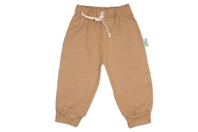 Pantalon Franela Marrón Bebé