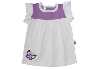 Vestido Blanco Mariposa Niña