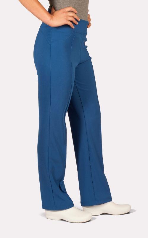 Pantalón Medico Clínico FLEX 100% Elasticado Azul Rey