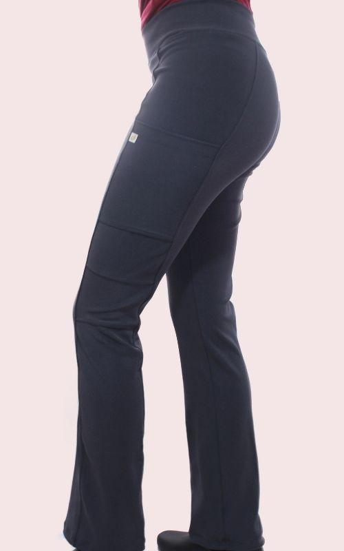 Pantalón Mujer Flex Pro M.OT Gris Liso