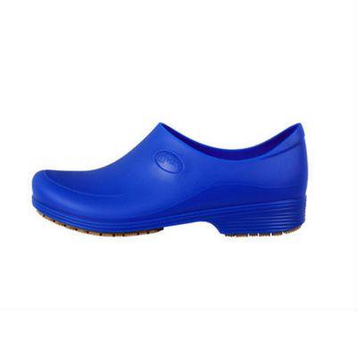 Zapato Antideslizante Cocina Clínico Men Azul Rey  (PRODUCTO SIN CAMBIO)