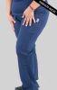 Pantalon mujer Pretina Lycra Red Birdy Azul Navy