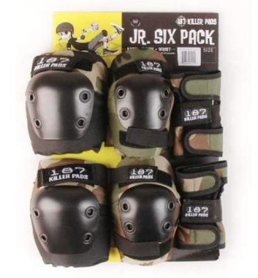Protecciones Six Pack Junior 187 Killer Pads2