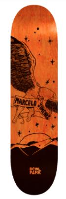 Deck Bowlpark Marcelo 8,25 Naranjo1