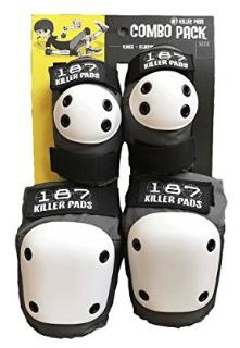 Rodilleras y coderas 187 Killer Pads Grey1