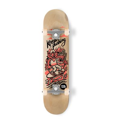 Skateboard completo Bowlpark Keep Pushing 7,51