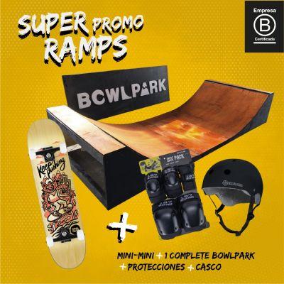 Pack Rampa Mini Mini + Complete 7,5 + Protecciones1