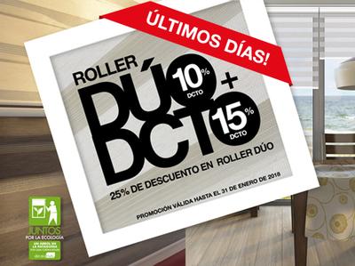 Roller Dúo Descuento 25%