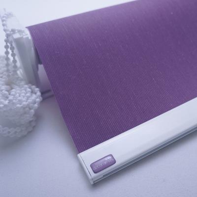 Cortina Roller Fibra Color Violeta